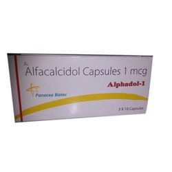 Alfacalcidol Capsules 1 mcg