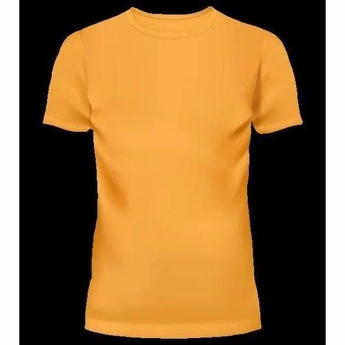 plain shirt orange