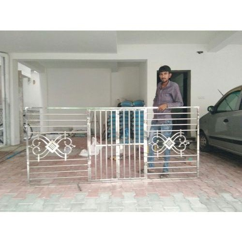 Stainless Steel Door Grill at Rs 450/square feet ...