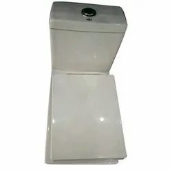 Open Front White Crystal Toilet Seats