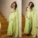 Silk Linen Saree