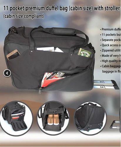 11Pocket Premium Duffel Bag ( Cabin Size) With Stroller(BG1455) at ... c67414a011dd4