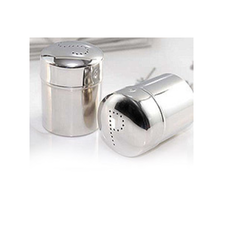 Stainless Steel Salt & Pepper Shaker, Size: 5.5 X 10 Cm