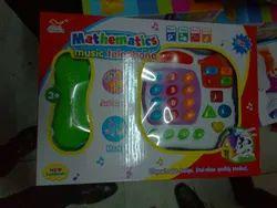 Mathmatics Music Telephone Toy Set
