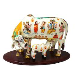 Loving Of Cow With Our Calf Decorative