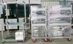 Assembly Line Table Trolley
