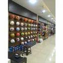 Sports Showroom Fixtures