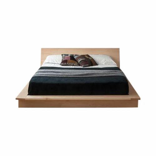 Low Floor Wooden Double Bed Rs 27000 Piece Vishwakarma Furniture