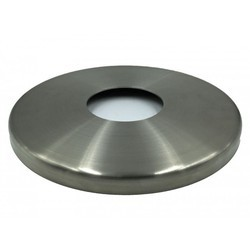 Stainless Steel Round Railing Base Cover