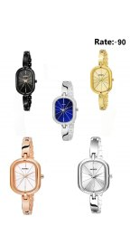 Multicolor Novex Ladies Fashionable Analogue Watch For Girl's, New