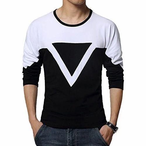 ab1cbdc214d6 Black,White Men's Stylish T-Shirt, Rs 179 /piece, Flawsome Couture ...