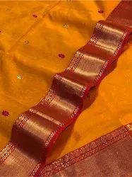 Maheshwari Butties Saree, Dry clean