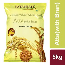 Patanjali Atta, Packaging Type: Packet, 6 Months