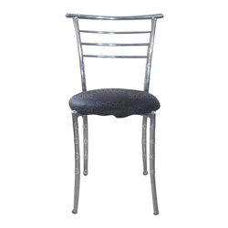 Grey Stainless Steel Chair
