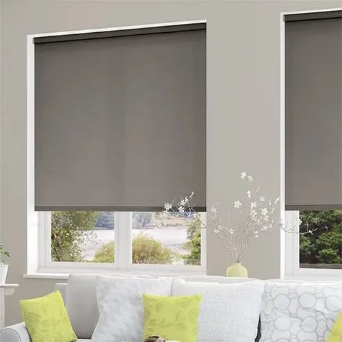 Grey Pvc Roller Blinds Window Rs 1000 Square Meter S R