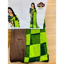 Royal Mam Printed Casual Wear Cotton Saree