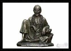 God Sai Baba Statue Shirdi Sai Baba Brass Turquoise Idol Sairam Shyam