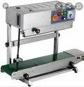 Vartical Contiuous Band Sealer Machine