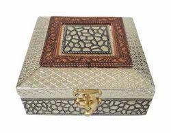 Small Antique Door Gift Box - Wooden Handmade