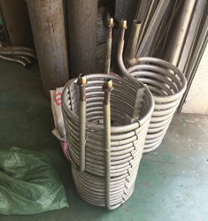 Steam Heater Assembly Helical Coil