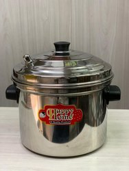 Manual Stainless Steel Idli Maker/ Cooker, Size: Small And Big