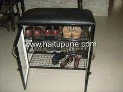 Shoe Rack with Cushion