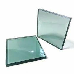 Plain Glass Plain Toughened Glass, Thickness: 12 mm, Size: 101-500 Square Feet