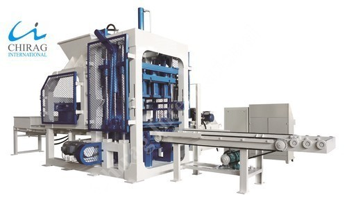 Fully Automatic Solid Brick Making Machine