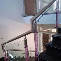 Crystal Post Glass Railings