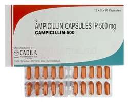 Ampicillin Campicillin 500 Capsule