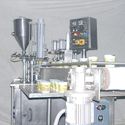 Rotary Curd Cup Filling Machine