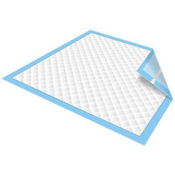 Smooth Rectangular Dry Underpad, Size: Medium, Size/Dimension: 60*90 Cm