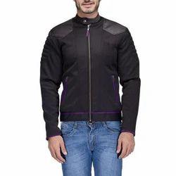 Full Sleeve Regular Fit Mens Designer Polyester Jacket, Size: S-XXL