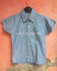 Casual Stripes Kids Shirt Style