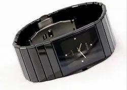 Men Square RADO Luxury Analogue Ceramic Watch for Personal Use