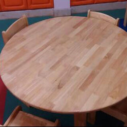 Brown Wooden Round kinds table, for Home