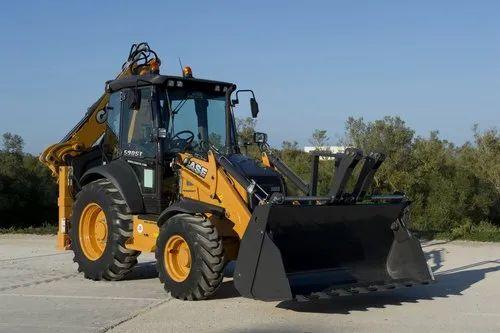 CASE 590ST Backhoe Loader, 110 hp, 8020 kg