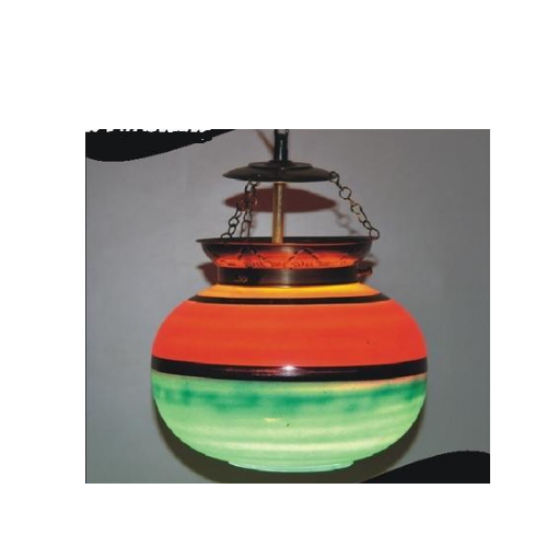 Round Colored Hanging Lamps