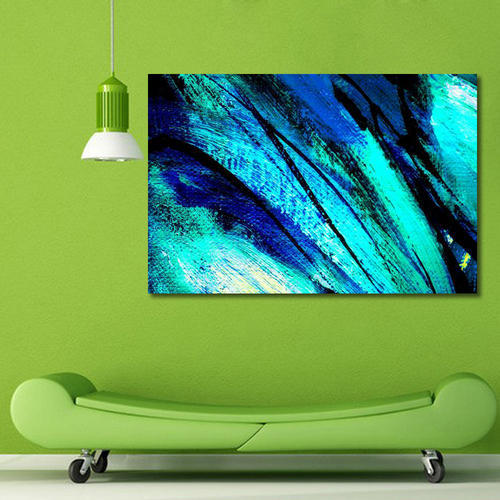 999Store Unframed Printed Abstract Canvas Painting