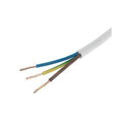 White 3 Core Cable