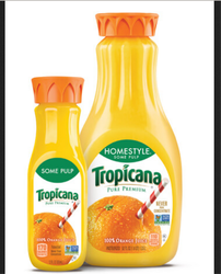 Tropicana Pure Premium Homestyle Some Pulp Juice, Packaging Type: Bottle