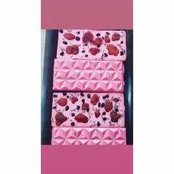 ChocoBelle Strawberry Handmade Chocolate Fancy Bars