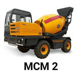 Self Loading Mobile Concrete Mixer (MCM 2)