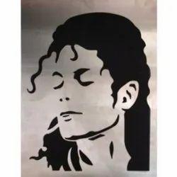 Michael Jackson Face Marble Tile