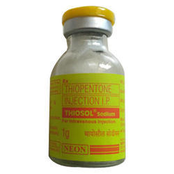 Thiosol Sodium 1g (Thiopentone Injection IP)