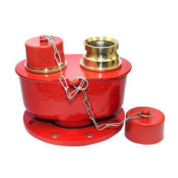Two Way Fire Brigade Inlet Connection