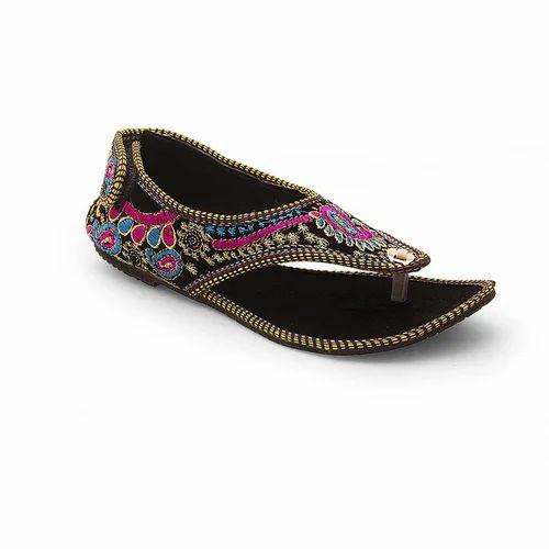 Women Jaipuri Embroidery Sandals 322
