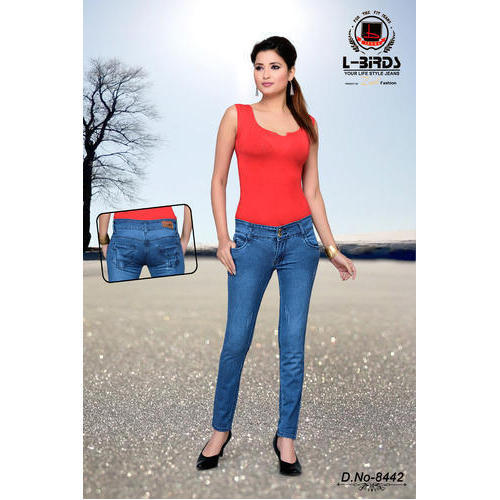 53e7f8eac7d Ladies Slim Fit Modern Denim Jeans