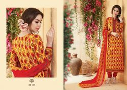 Cotton Fancy Salwar Suit
