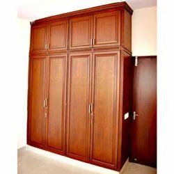 Wooden Bedroom Wardrobe  sc 1 st  IndiaMART & Wooden Cabinets u0026 Wardrobes Manufacturers Suppliers u0026 Dealers in ...